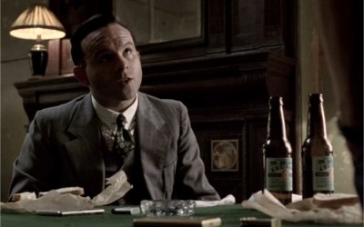 Meyer Lansky informs Luciano about Owen's fate