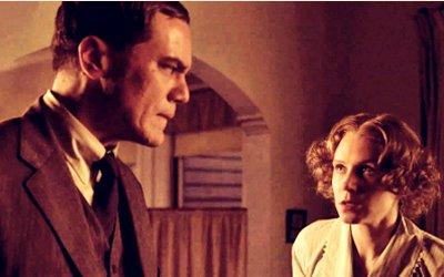Van Alden and his Norwegian hottie, Sigrid