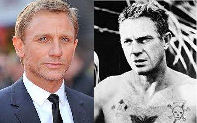 Daniel Craig and Steve McQueen