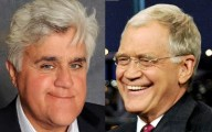 Jay Leno and David Letterman