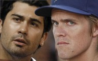Zack Greinke and Carlos Quentin Brawl