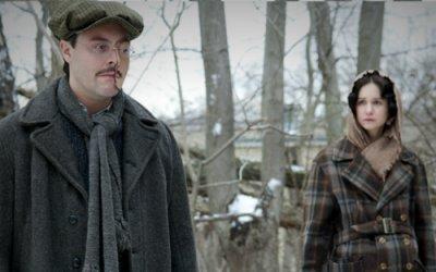 Richard Harrow with his sister, Emma