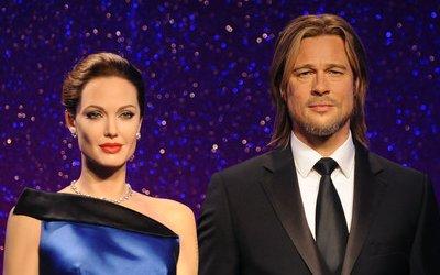 Jolie and Pitt rewaxed