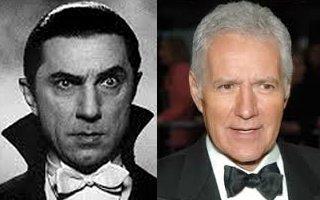 Dracula and Trebek