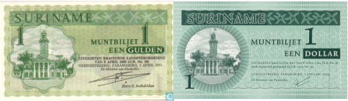 Surinamese money