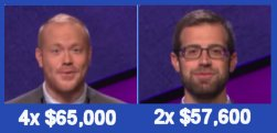 Jeopardy champs S31 W17