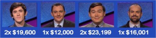 Jeopardy Champs S31 W19