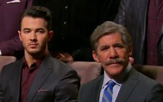 Kevin Jonas and Geraldo Rivera