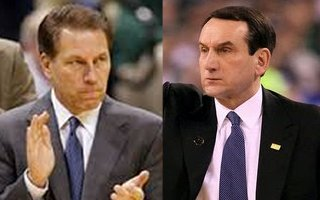 Coach Izzo and Coach K