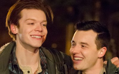 Ian and Mickey in Southside Rules