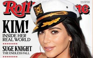 Kim K on Rolling Stone