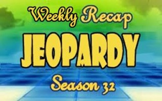 Jeopardy Season 32 Weekly Recap