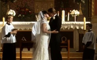 Bunchy and Teresa's wedding