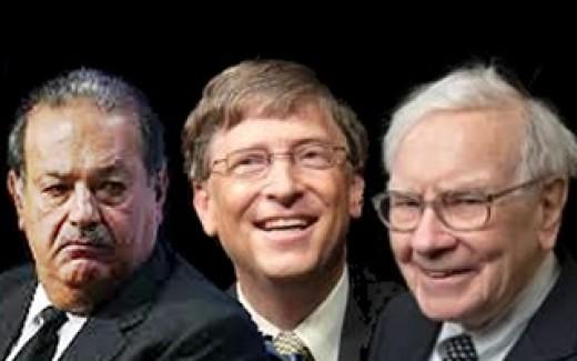 Warren Buffett, Carlos Slim, Warren Buffett