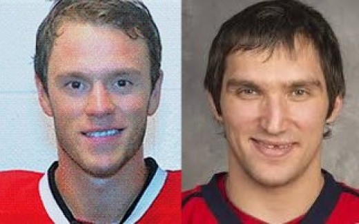 Toews and Ovechkin