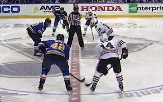 Blues vs Blackhawks