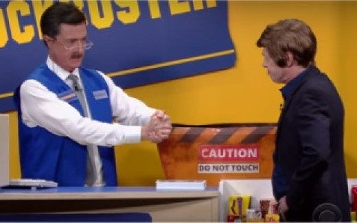 Buscemi and Colbert