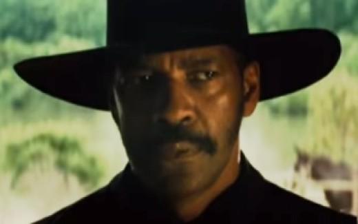 Denzel Washington in The Magnificent Seven (2016)