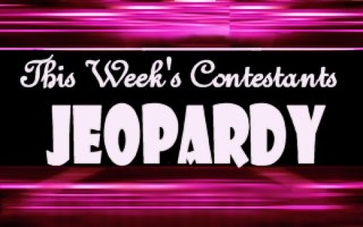 this week's Jeopardy players