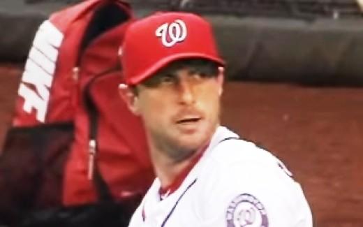Max Scherzer strikeouts