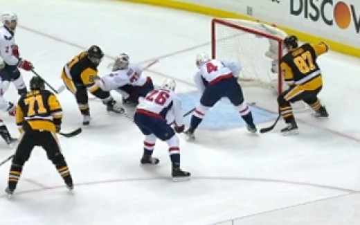 Capitals v Penguins