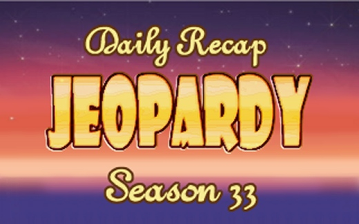 Jeopardy Daily Recap S33