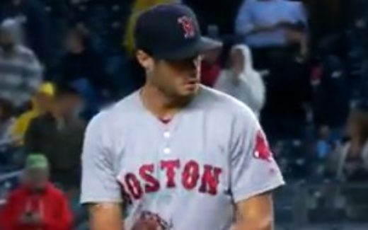 Red Sox pitch